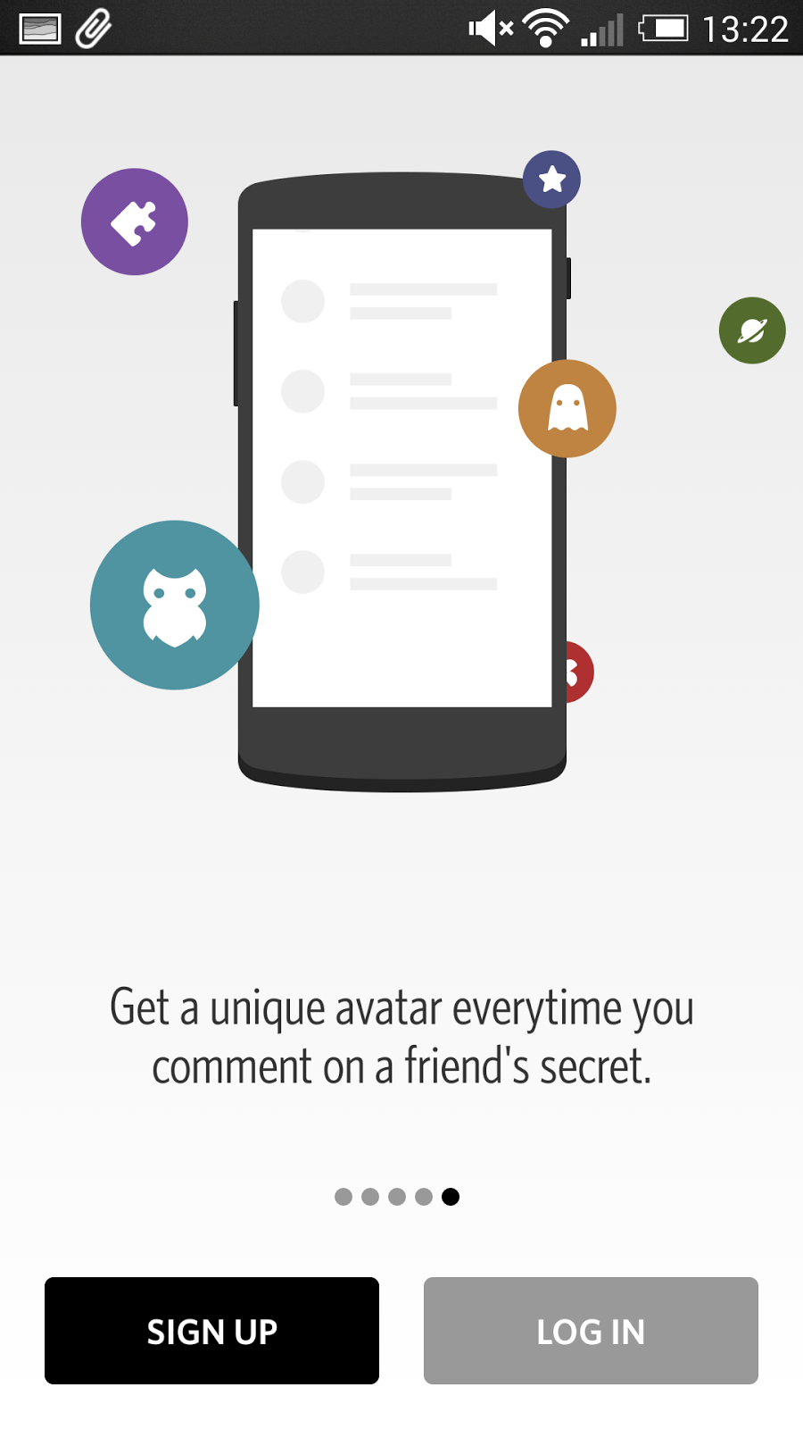 Secret 解除分享焦慮的社交 App ,對朋友匿名寫真心話 secret-04