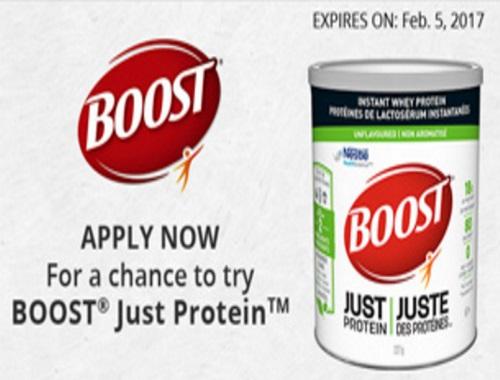 Chickadvisor Boost Just Protein Campaign #BOOSTJustProtein