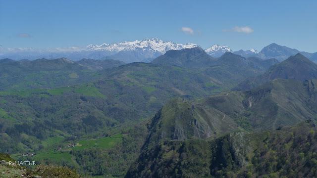 La Matosa y Picos desde el Torre - Asturias