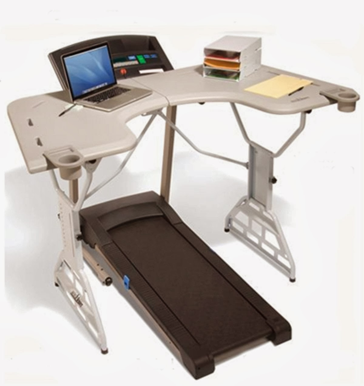 TrekDesk Treadmill Desk, walk while you work, large desk area to work on while you exercise