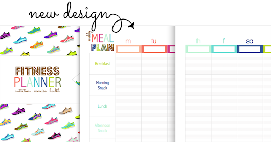 Coming Soon: NEW Printable Fitness & Nutrition Planner! (A5 + Letter)