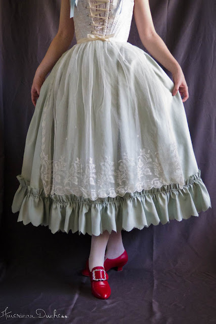 68dc7aa4b33dd7 V68  Operations Petticoat  Two Finished 18th Century Petties ...