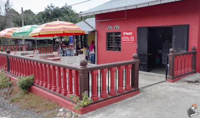 Warong Kg Chengal Jantan juga popular Warong D'Bukit