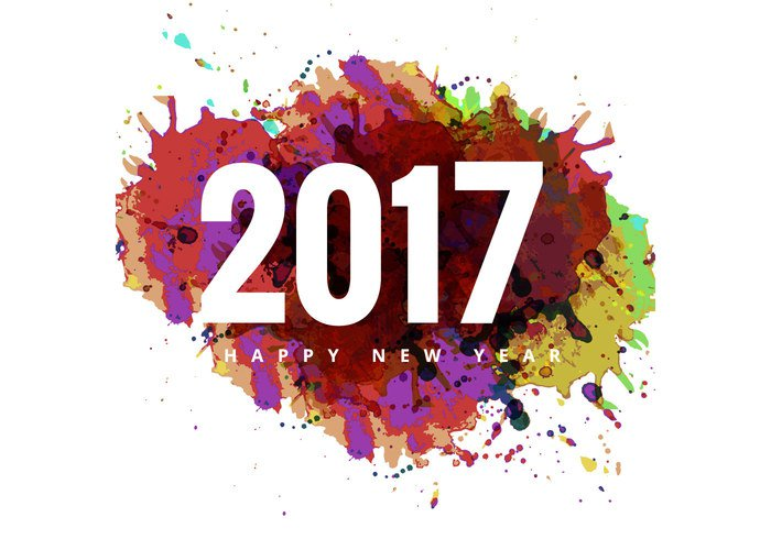 Happy New Year 2017 HD Wallpapers For Smartphone
