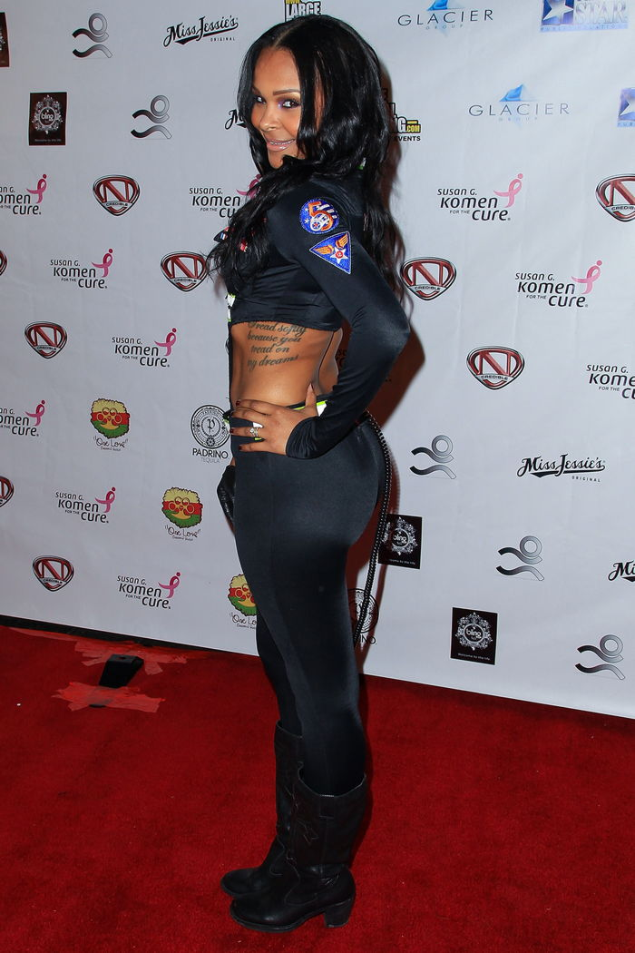 Samantha Mumba  Ncredible Haunted Mansion Party In La  Bootymotiontv-1250