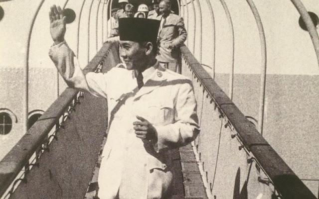 Presiden pertama Republik Indonesia, Ir. Soekarno