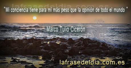Frases de Marco Tulio Cicerón