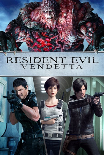 Resident Evil Vendetta 2017 English 720p WEB-DL 750MB