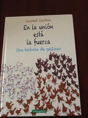 Contando cuentos, cuentos infantiles, que leer, libros infantiles, union, Laurent Cardon, tramuntana editorial