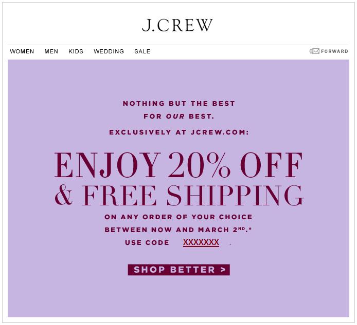 63e4ceee5ed J.Crew Aficionada  Special Treatment  20% Off   Free Shipping at ...