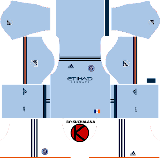 New York City FC Kits 2017 - Dream League Soccer