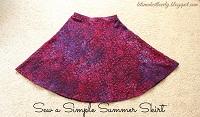 Sew a Simple Summer Skirt