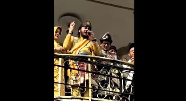 Merinding! Sultan Palembang Langsung Pimpin Doa Agar Allah SWT Menangkan Prabowo-Sandi