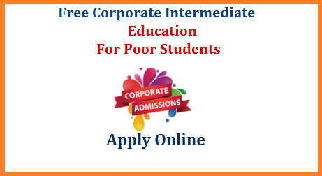 Andhra Pradesh/ TS Govt inviting Online Applications @jnanabhumi.ap.gov.in for Free Corporate Intermediate Education. Telangana Students may Submit their Online Application Form for Free Corporate Intermediate Education through https://telanganaepass.cgg.gov.in Eligible candidates may submit their Online Application Form. Free Intermediate in Corporate Colleges for BC/SC/ST/Min 10th Class Students. AP Free Corporate College Inter Admissions Online. Online Application for Free Corporate Colleges Intermediate Scheme.Govt is offering applications for Free 2 Years Intermediate Education with Eamcet Coaching in Various Corporate Colleges like Narayana, Sri Chaitanya etc., in Andhra Pradesh and Telangana States for BC/SC/ST/Minority SSC Merit Students who have secured more than 7.0 GPA ap-ts-telangana-free-corporate-intermediate-education-apply-online-jnanabhumi-epass-selection-list-download