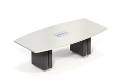 Powered Conference Table with USB and HDMI Inputs