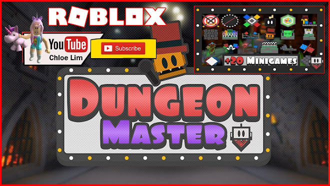 Roblox Dungeon Master Gameplay - Minigame style game in a dungeon hosted by a crazy host, playing with Cool Friends