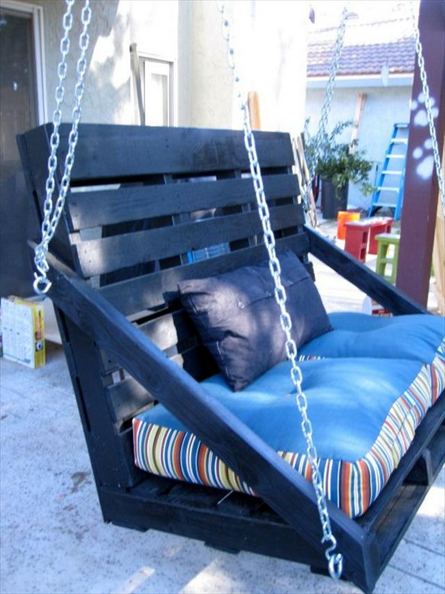 50 Diy Pallet Swing Ideas Make Immediately Pallets Platform