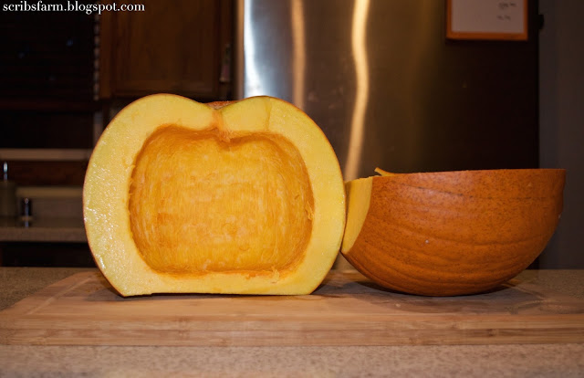 sugar pumpkin recipe