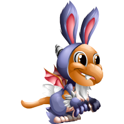 Appearance of Bunny Dragon when baby