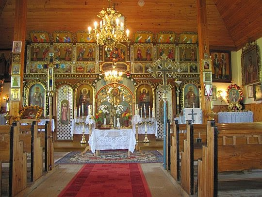 Cerkiew św. Mikołaja Cudotwórcy w Zyndranowej.