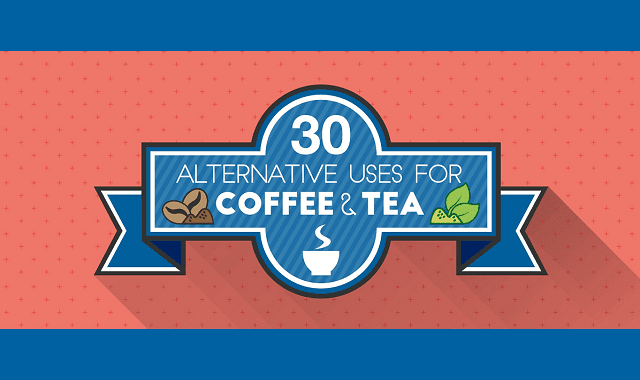 30 Alternative Uses For Coffee And Tea