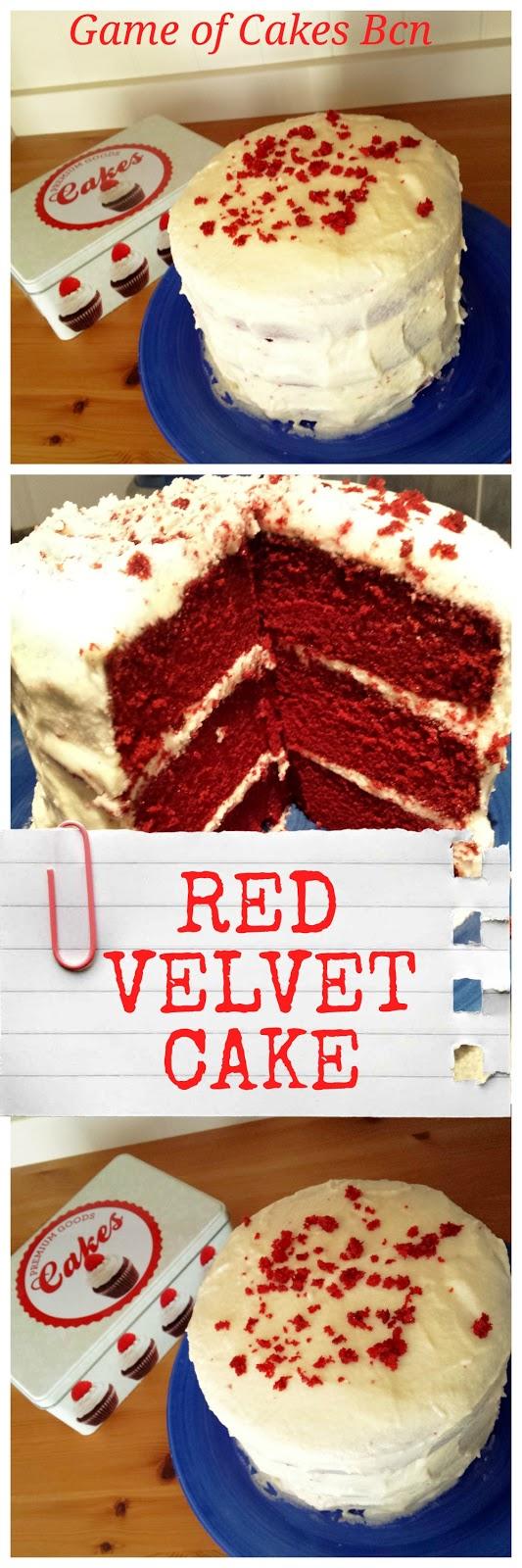 Red Velvet Cake con cobertura de Mascarpone