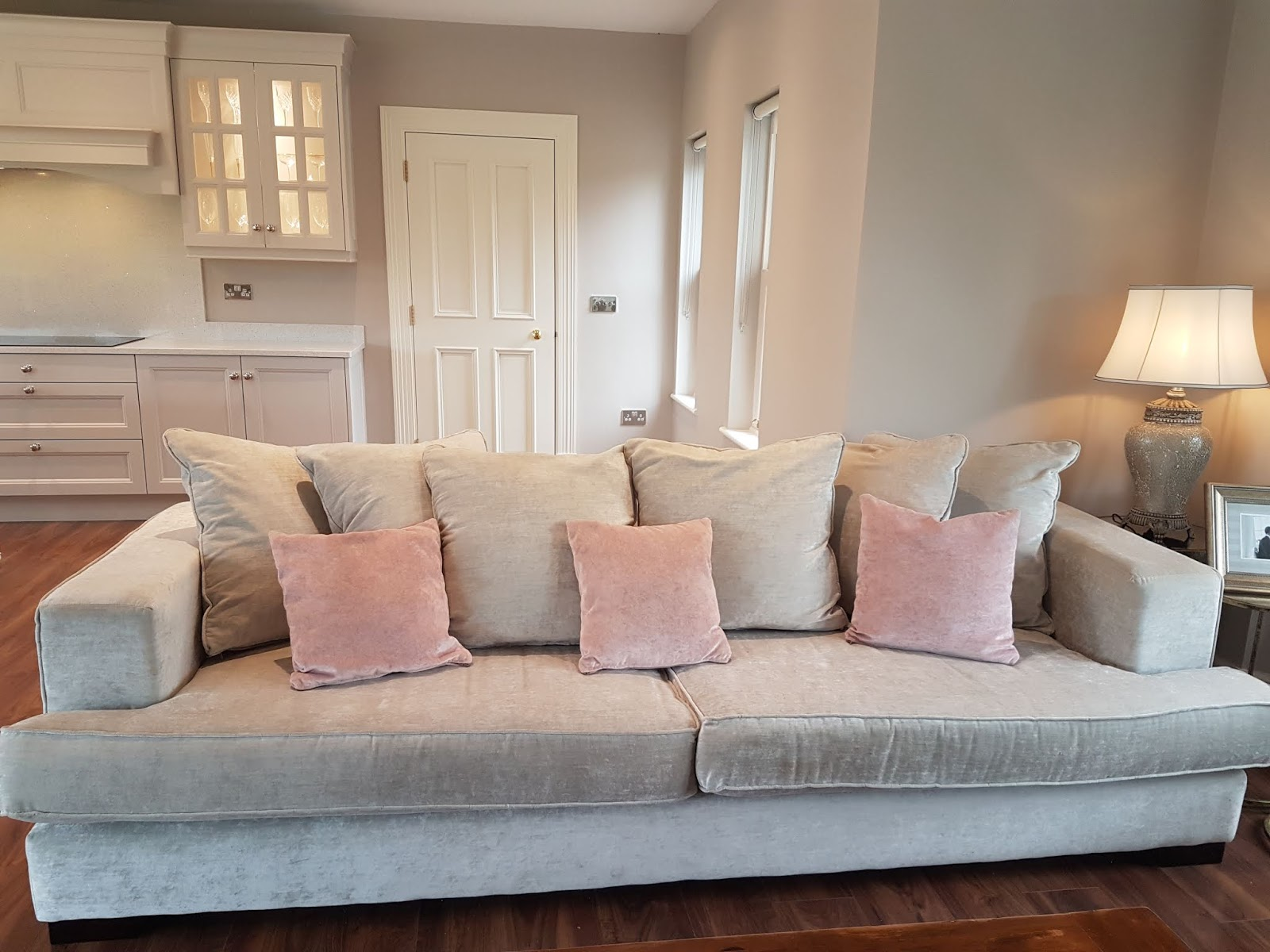 They Are Fab Little Cushions But Just Living With The Couch U0026 In The Space  I Have It In, I Decided That I Needed Cushions With Print U0026 Something That  Could ...
