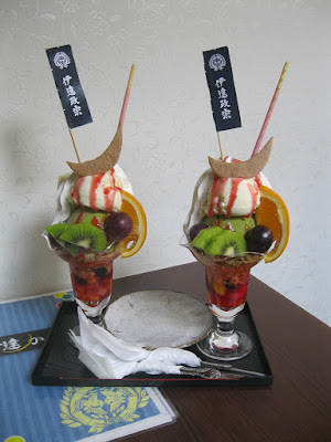 Japanese Ice Cream Parfaits.