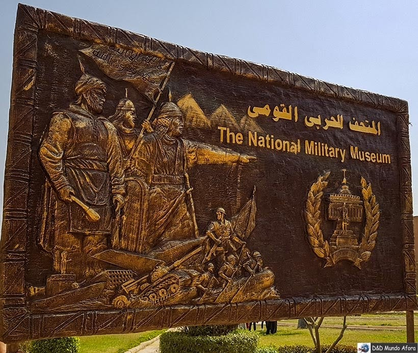 Museu Nacional Militar na Fortaleza de Saladino - O que fazer no Cairo, Egito