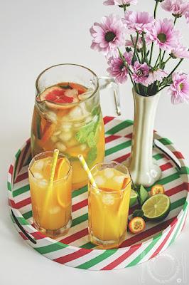 Osvežavajući koktel od citrusa