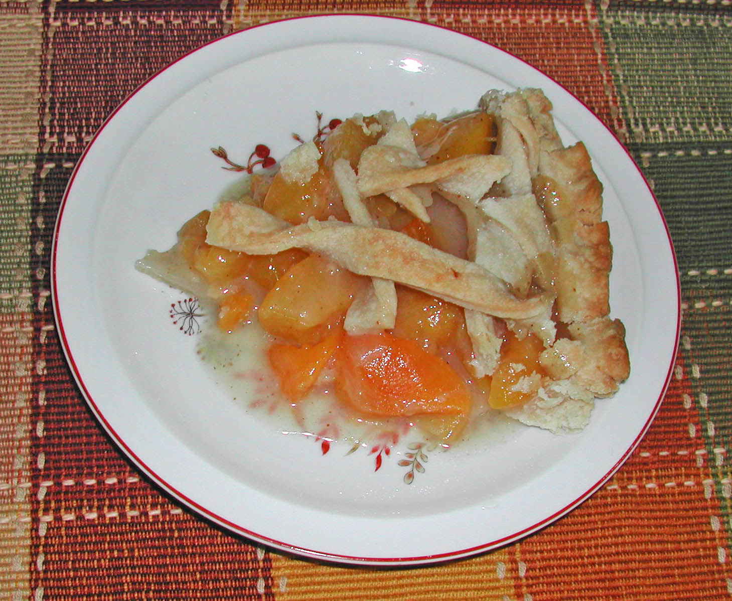 Peach pie. Pie with canned peaches - recipes, photos 75