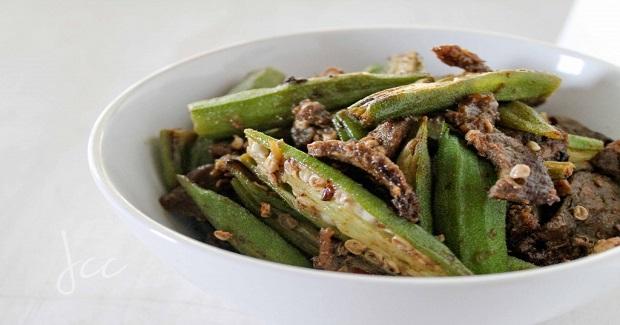 Beef + Okra Recipe