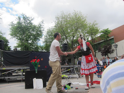 festival teatro de calle, teatro clown, teatro de calle, payasa, ¿Y...Romeo?