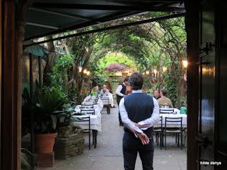 Locanda Montin, Venice, garden