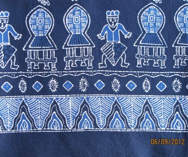 Batik Motif Khas Lombok Motif Lumbung