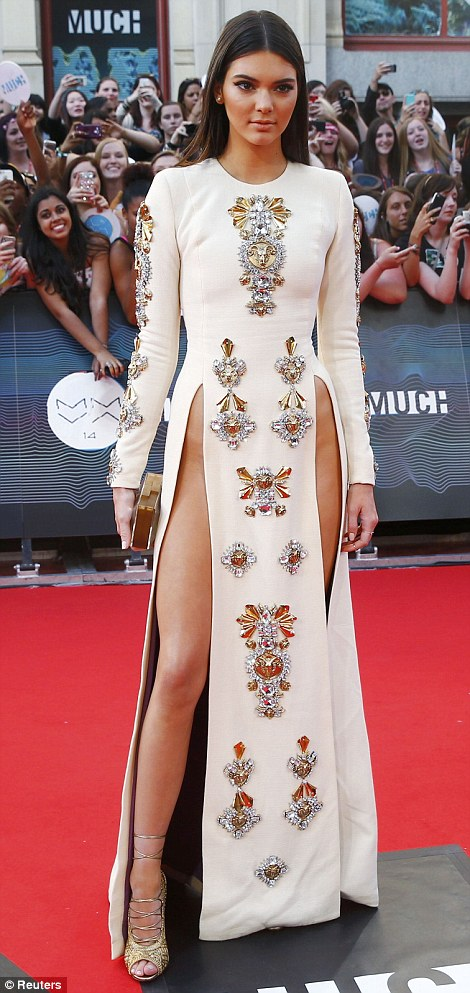 kendall jenner mmva dress