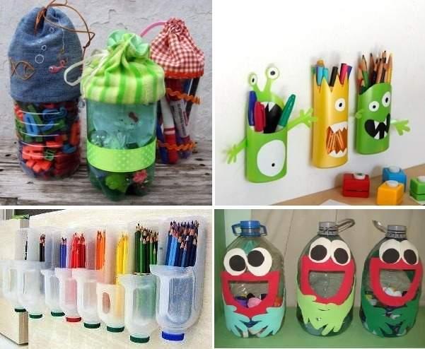 Ideas para reciclar botellas de plastico fotos - Cosas para reciclar ...