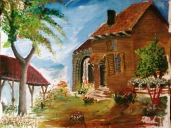 Guaj Boya Resim Turk El Sanatlari Ve Hobiler