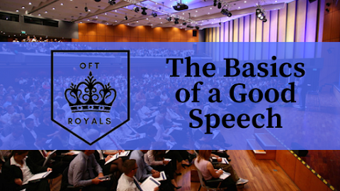 The Basics Of A Good Speech – Royals Lesson!