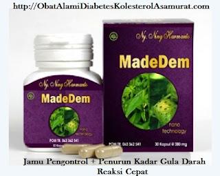 Jual Kapsul JAMU Madedem Obat Herbal Diabetes Mellitus