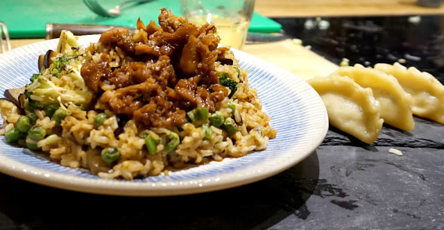 Chicken Teriyaki with Vegetable & Brown Rice Stir Fry