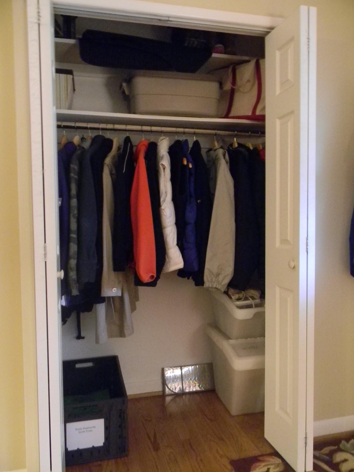 Coat Closet To Mini Mudroom Phase I