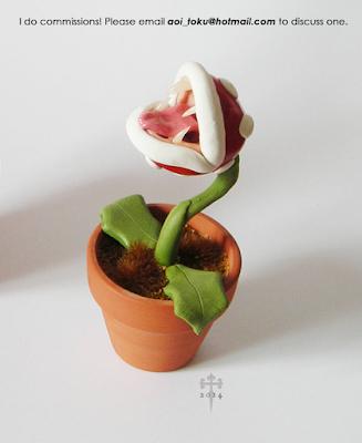 piranha plant figure