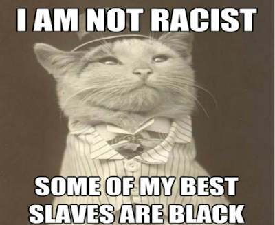 racist pictures of white people