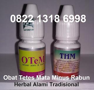 Cara obat tetes menurunkan mata minus rabun herbal OteM Thm