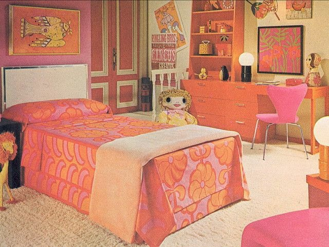 Seventies decor