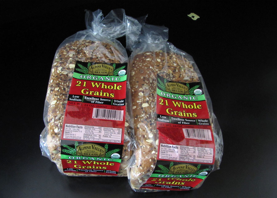 Alpine Valley Breads Organic 21 Whole Grains