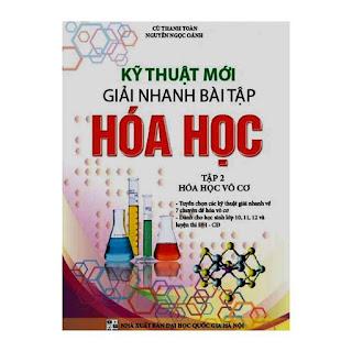 [PDF] Kĩ thuật mới giải nhanh hóa học - tập 2