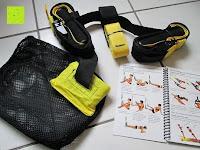 Erfahrungsbericht: LiHao Schlingentrainer Suspensiontrainer TRX Functional Training Fitness