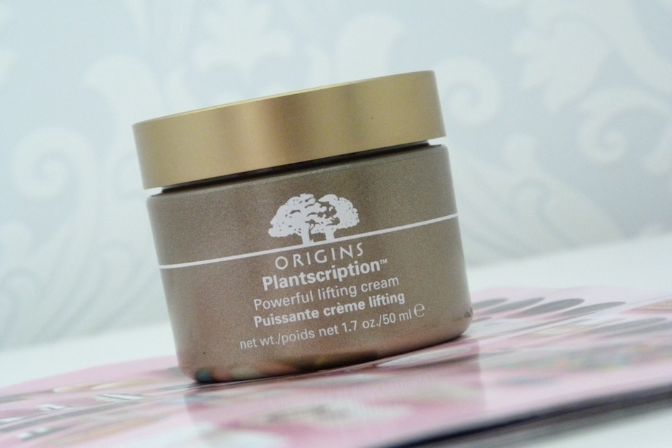 an image of origins plantscription power lifting cream